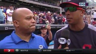 Michael Brantley discusses fatherhood, big weekend for the Tribe after win