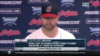 Did Corey Kluber have an early advantage in his start Sunday?