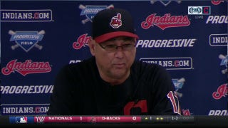 Terry Francona on Kluber's dominance: 'He's one of the best in the game'