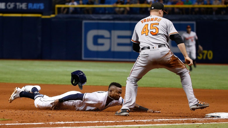 Rays can't snap out of slide with series-opening shutout loss to Orioles