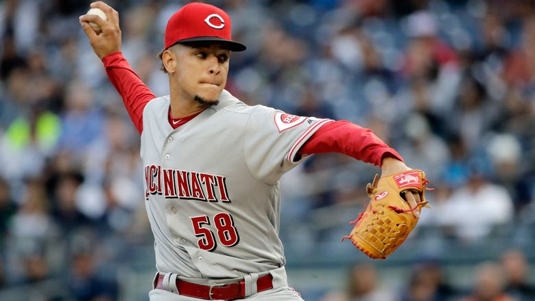 Reds turn their first triple play in over two decades