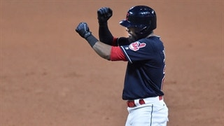 HIGHLIGHTS: Indians blow game open with monster eighth inning