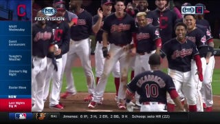 FOX Vision: Indians prepare to celebrate second walk-off of home stand
