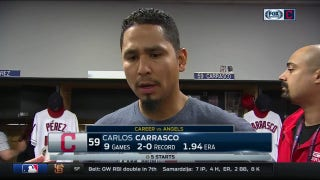 Carlos Carrasco battled through on night he didn't have his best stuff