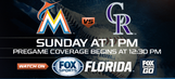 Preview: Marlins riding red-hot Stanton looking to sweep Rockies