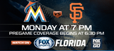 Preview: Stanton looks to continue HR barrage as Marlins host Giants
