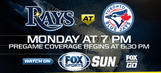 Preview: Rays try to recover from disappointing homestand with trip to Toronto