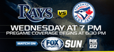Preview: Rays try to keep pace in wild card chase in Game 2 vs. Blue Jays