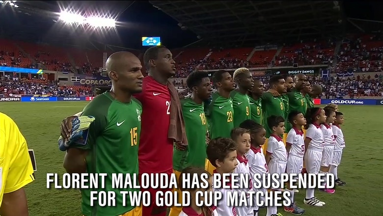 French Guiana's Florent Malouda suspended for playing in Gold Cup while ineligible