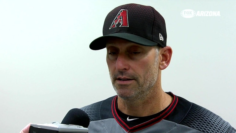Lovullo: Braves made Godley pay for mistakes over plate