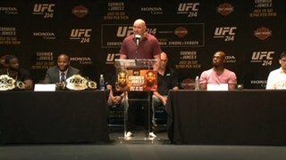 Dana White addresses those Brock Lesnar vs. Jon Jones