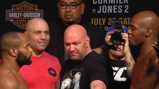 Why was Dana White so calm during the Jones - Cormier faceoff?