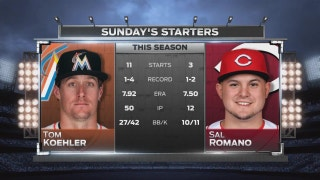Tom Koehler gets chance to lift Marlins to 3 straight wins