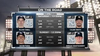 Blake Snell looks for another strong start against Yankees
