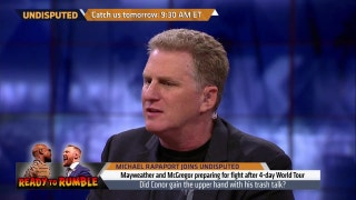 Michael Rapaport explains why he's picking sides in Mayweather vs. McGregor | UNDISPUTED