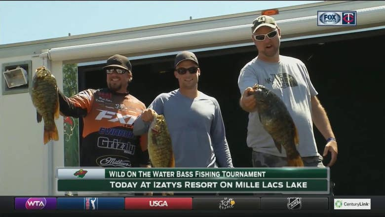 Wild head to Lake Mille Lacs for charity fishing tournament
