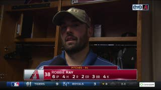 Robbie Ray: 'Just a matter of time' before offense got going