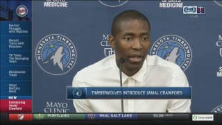 Crawford says signing with Wolves 'made sense on every level'