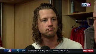 Leake on start vs. Mets: 'I really couldn't get going'
