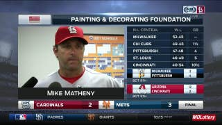 Matheny on Cardinals' frustrating loss to Mets