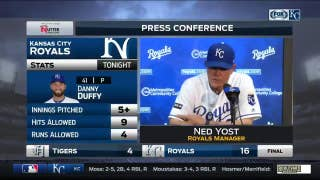 Yost on Royals' baserunning: 'It wasn't textbook by any means'
