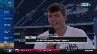 Drew Lock excited to represent Mizzou at Kauffman Stadium