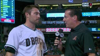 AJ Pollock: 'We don't give up.'