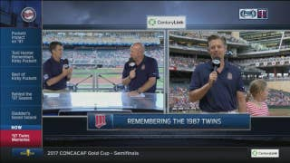 Twins teammates Smalley, Laudner reminisce about '87 World Series