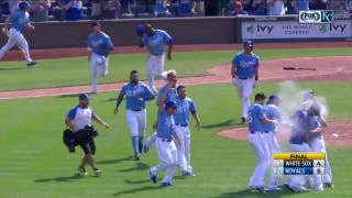 WATCH: Brandon Moss hits walk-off as Royals beat White Sox