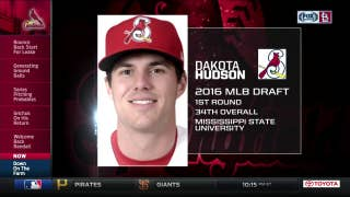 2016 Cardinals first-rounder Dakota Hudson advancing quickly