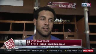 Jose Martinez on coming off the bench: 'You've got to be ready for whatever'