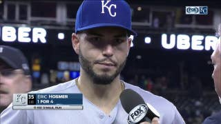 Hosmer glad that Royals' aggressive baserunning paid off against Tigers