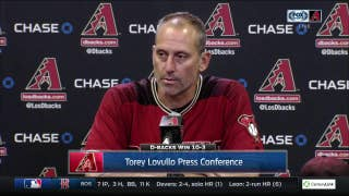 Torey Lovullo:  'One of those days we've been looking for for a while.'
