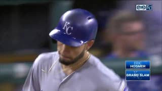 WATCH: Hosmer's grand slam caps Royals' nine-run seventh