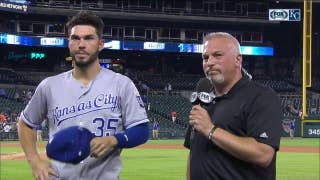 Hos after Royals win: 'We're firing on all cylinders right now'