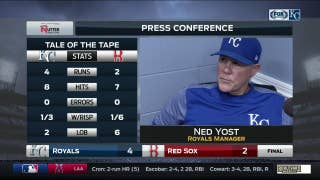 Ned Yost on Mike Moustakas: 'He's really swinging the bat well'