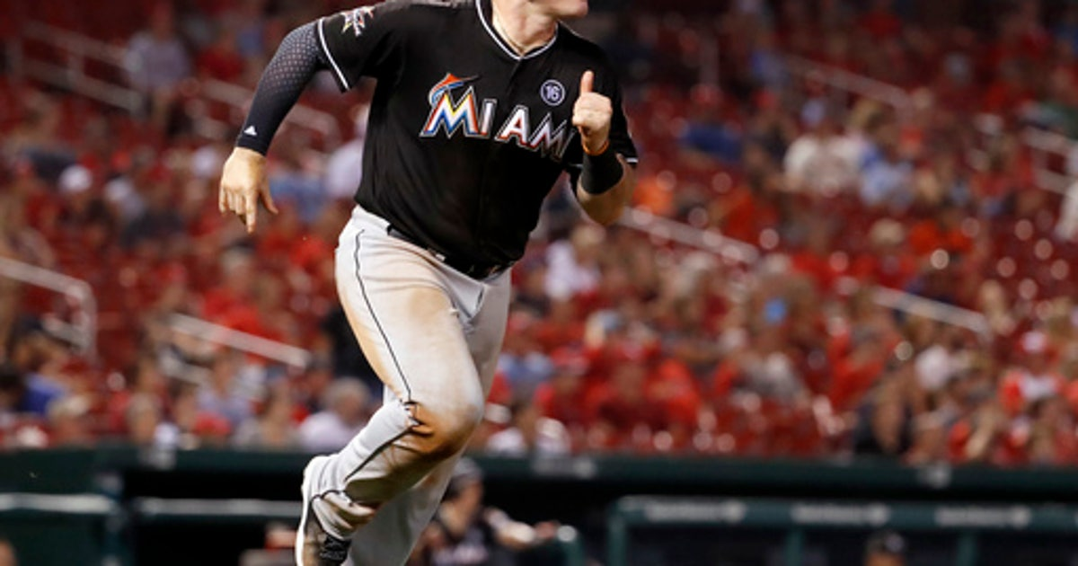 c5527d63 Stanton homers twice to lead Marlins past Cardinals 9-6 (Jul 05, 2017) |  FOX Sports