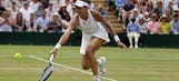 The Latest: Play on some courts at Wimbledon delayed by rain
