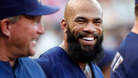 Eric Thames, Brewers first baseman (--> EVEN)