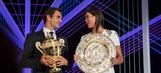 Federer up to ATP No. 3 after Wimbledon; Muguruza WTA No. 5