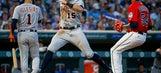 Martinez goes deep twice, Tigers top Twins 6-3