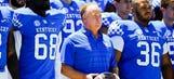 Johnson begins camp as Kentucky's No. 1 quarterback