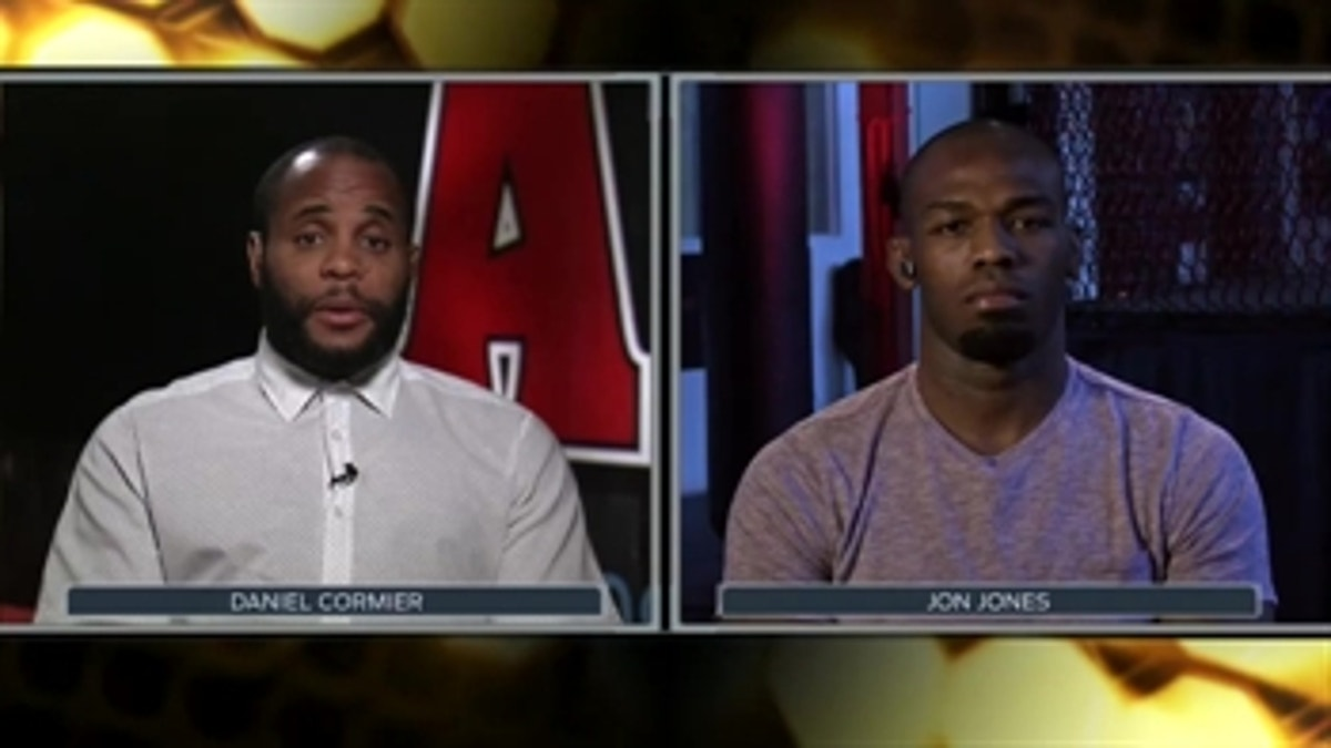 UFC 214: Jon Jones and Daniel Cormier go at each other in interview
