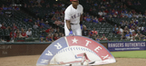 PHOTOS: Adrian Beltre ejected for moving the on-deck circle