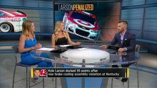 Kyle Larson gets major penalty following Kentucky violation | NASCAR RACE HUB