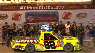 Matt Crafton wins a wild race at Eldora | 2017 TRUCK SERIES | FOX NASCAR