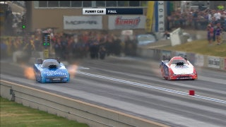 Robert Hight Wins Funny Car Final at Denver | 2017 NHRA DRAG RACING