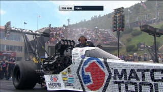 Antron Brown Wins Top Fuel Final at Denver | 2017 NHRA DRAG RACING