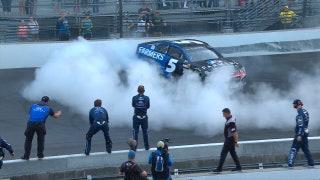 Kasey Kahne wins crash-filled Brickyard 400 | NASCAR VICTORY LANE