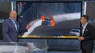 Breaking down Martin Truex Jr.'s fiery crash, final restart at Indy | NASCAR RACE HUB